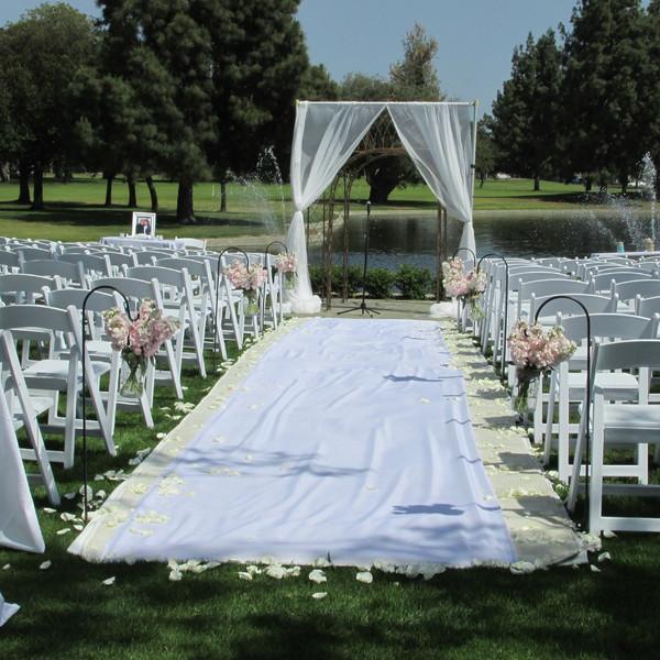 3 Pm Outdoor Wedding: Downey, CA Wedding Venue