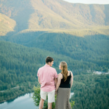 220x220 sq 1471029688527 13 engagement portraits mountains lake rattlesnake