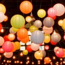 130x130 sq 1363021422102 floatingpaperlanterns2