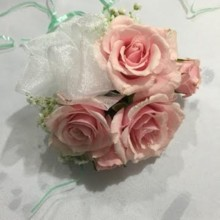 220x220 sq 1483503807334 pink corsage