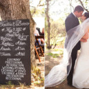 130x130 sq 1391928474488 1 chalkboard sign wedding progra