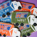 personalized birthday party cookie favors