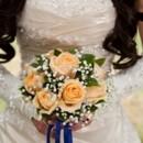 130x130 sq 1370817834425 orange roses bridal bouquet 300