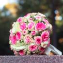 130x130 sq 1370818780178 pink garden roses bouquet