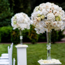 130x130 sq 1430064158208 tall centerpieces hydrangeas roses orchids