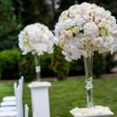 130x130 sq 1430064628001 tall hydrangeas rose sand orchids centerpiece