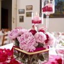 130x130 sq 1430065064095 peonies in a bundle centerpiece