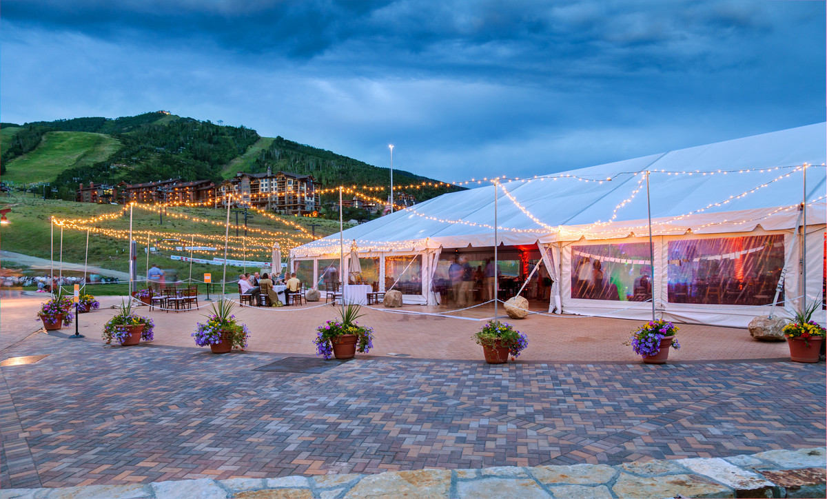 Torian Plum Outdoor Event Tent Venue Steamboat Springs