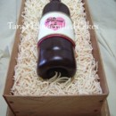 130x130 sq 1364935291382 wine bottle cake 2