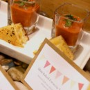 130x130 sq 1467325622109 tomato soup shooters with focaccia triangles
