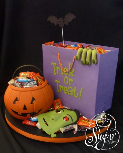 Sugar creations uniontown ks wedding cake for Easy halloween cakes to make at home