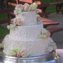 130x130 sq 1212767453738 3 tier pink swirls kerry 1