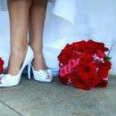 130x130 sq 1350101461736 bridesshoesandbridesmaidbouquet