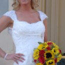 130x130 sq 1366654643842 sunflower bouquet at larimore bride on steps