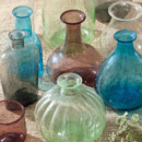 130x130 sq 1393255165732 recycled glass vessel
