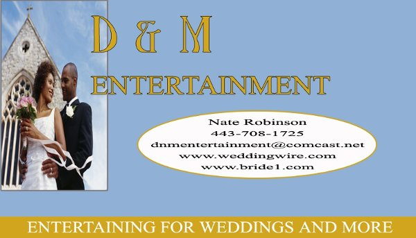 photo 2 of D & M Entertainment