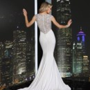 130x130 sq 1394078150889 simone carvalli beaded back wedding gown fit and f