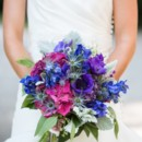 130x130 sq 1366754616455 purple blue and pink bouquet 1