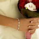 130x130 sq 1389654036496 bridal jewelry bezel diamond bracelet white gold 5