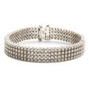 Bates Bracelet  4-Strand Diamond Bracelet