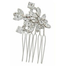 Parker 709  <br /> Swarovski Crystal and Hair Comb - 709