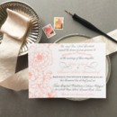 130x130 sq 1477604721039 coral gray garden wedding invitation