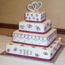 130x130 sq 1362760456440 weddingcaketoppersmonogram