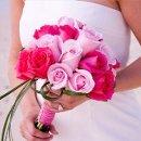 130x130 sq 1327418544710 bridalboquetromanticdpinklpinkrosest