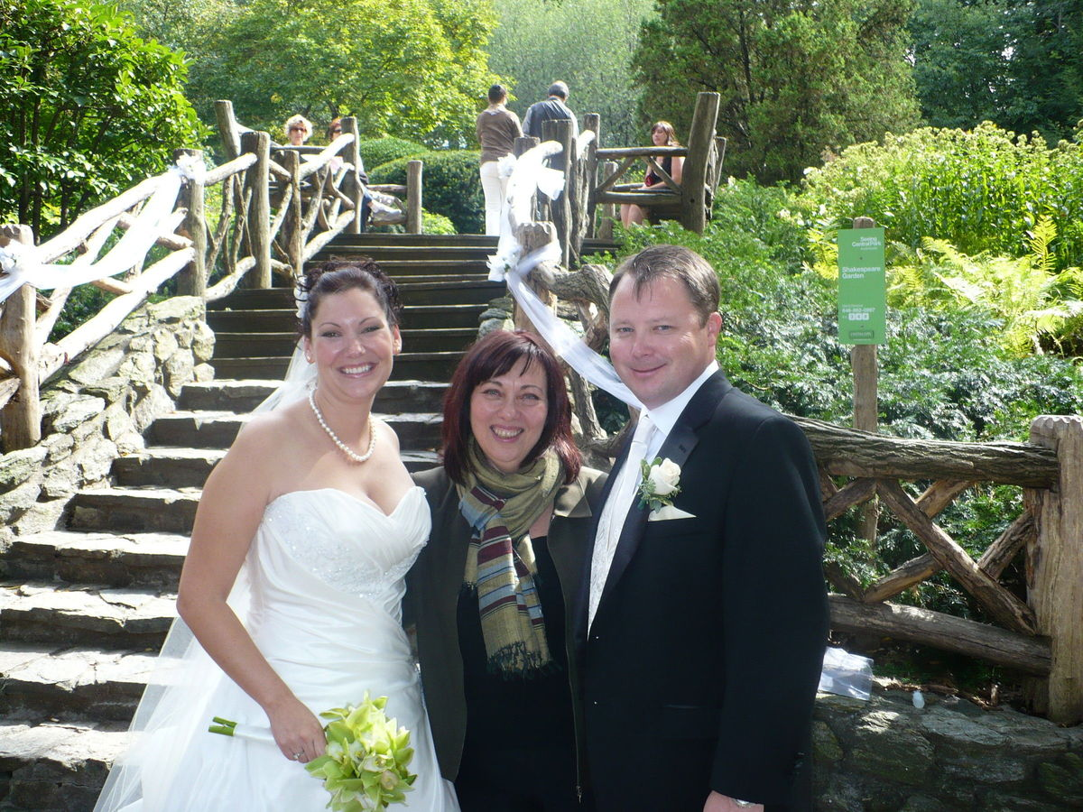 Shauna Kanter Registered Wedding Officiant NYC Hudson Valley
