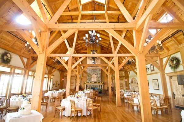 The Red Barn At Outlook Farm - South Berwick ME Wedding Venue