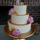 130x130 sq 1467037169013 gold cake