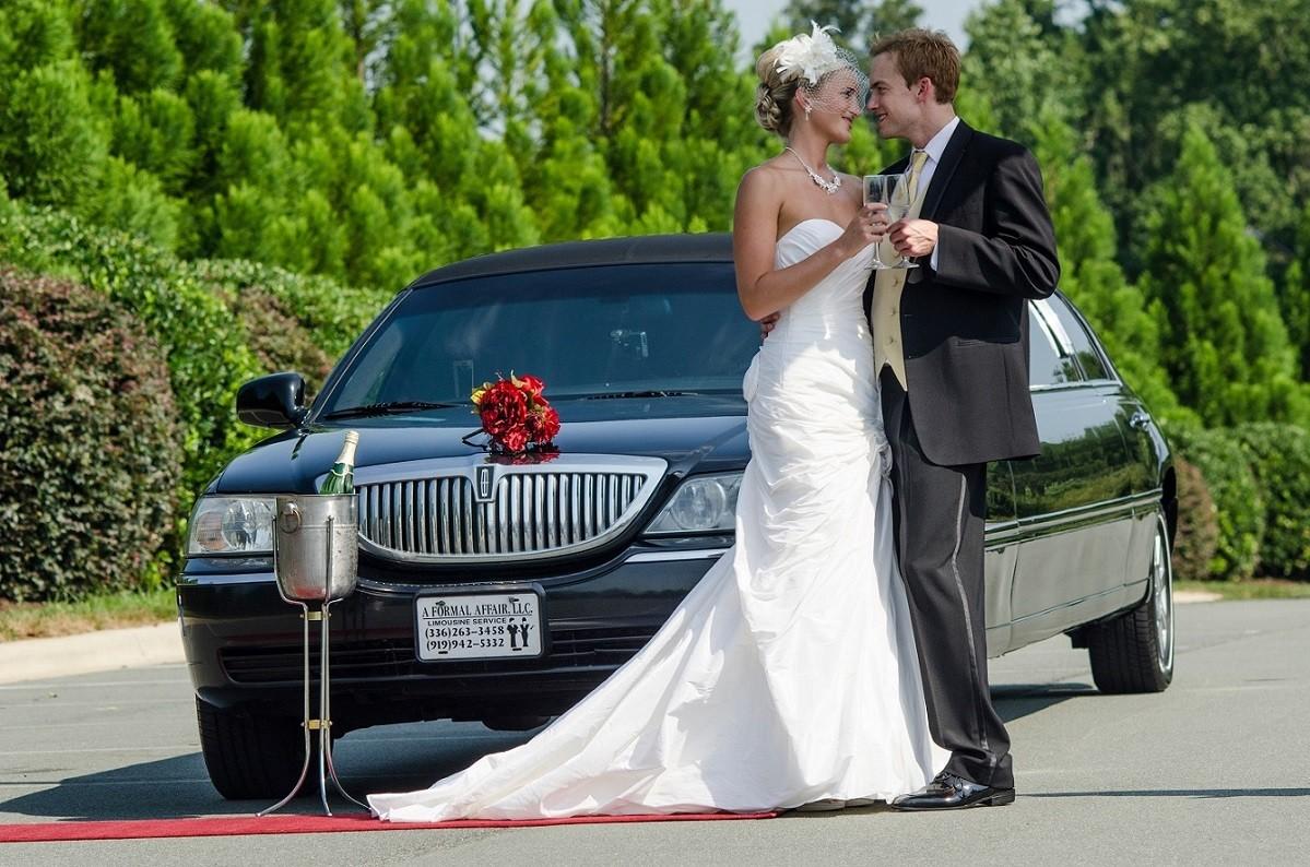 A formal affair afa limousine service transportation for Wedding dresses burlington nc