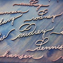 130x130 sq 1453328357 36661e4b331c2523 houston calligrapher laser cut names place cards