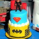 130x130 sq 1367359940966 superman cake