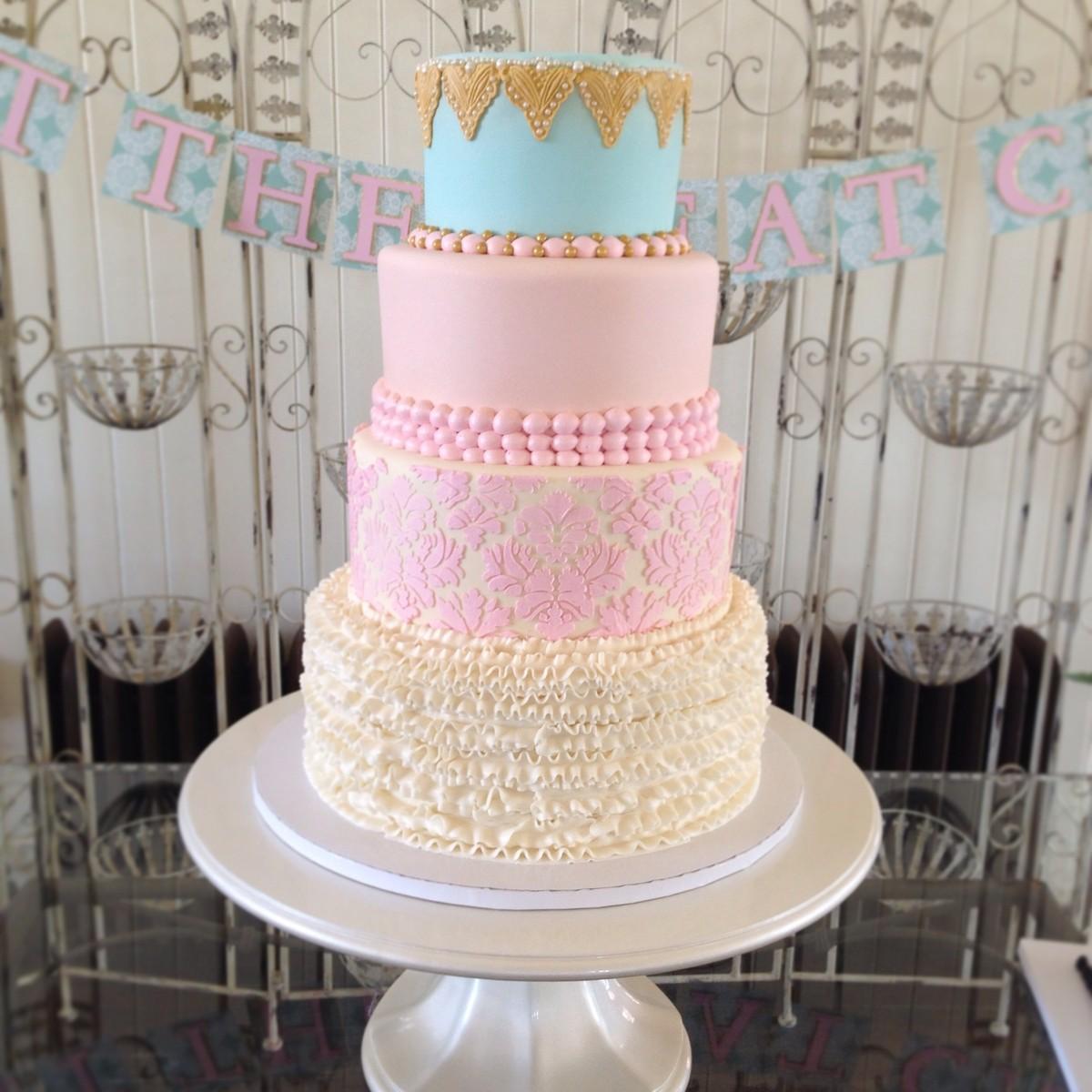 Tiffany\'s Cake Atelier - Wedding Cake - Yukon, OK - WeddingWire