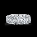 Asscher Cut Diamond Eternity Band *Available in all sizes and qualities* Call for a quote - 213-627-4179 www.roxburyjewelry.com info@roxburyjewelry.com