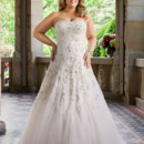 Brand: Glamour Plus Collection Style: Esther Style Code: 5636T Red carpet gown with ornate beaded embroidery, hugging the body and falling softly at the hemline.