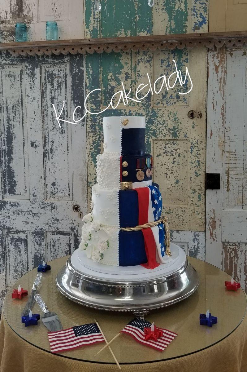 Kccakelady Llc Wedding Cake Kansas City Ks Weddingwire
