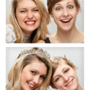 130x130 sq 1368799422559 photostrip bride bridesmaid