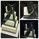130x130 sq 1399305958082 black and white wedding cak
