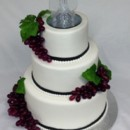 130x130 sq 1399306008156 wedding cake with grape