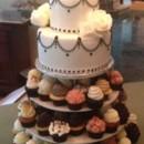 130x130 sq 1414420269025 cupcake tower and cake