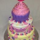 130x130 sq 1414422425401 cupcake cake
