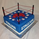 130x130 sq 1414422494291 rocky italian stallion cake