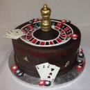 130x130 sq 1414422502406 roulette wheel cake