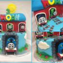 130x130 sq 1414422512099 thomas the cake collage