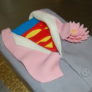 130x130 sq 1414436192548 superman groomsman cake