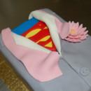 130x130 sq 1414436192548 superman groomsman cake