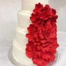 130x130 sq 1414437620647 cascading rose wedding cake