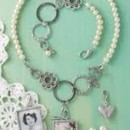 Immortalize your magic moment with Jewel Kade's Magic Moment Necklace and Bracelet, Pearl Studs, Pewter Heart Drop and Customizable Photo Charm https://alix.jewelkade.com/Shop/Search?q=magic%20moment